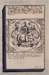 XVIII-160 Grafzerk van Dignom Cornelisdr. en Aeltgen Jacobsdr. van Arckenhout, resp. 1e en 2e huisvrouw van Maerten ...