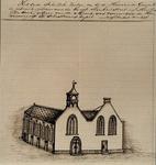 XVIII-189-2 Gezicht op de Sint Sebastiaanskapel in de Lombardstraat, uit het westen.
