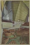 XVIII-219-05 Interieur gereformeerde kerk aan de Statensingel.