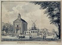 XVIII-234-01-01 De Engelse Episcopale Kerk aan het Haringvliet.