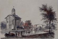 XVIII-239 Episcopaalse kerk aan het Haringvliet.