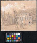 XVIII-24 De Zuiderkerk te Rotterdam in 1824 - copie