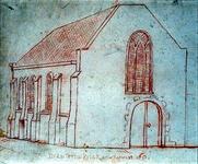 XVIII-280 Lutherse kerk aan de Goudsesingel.