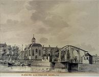 XVIII-281 Lutherse Kerk aan de Blaak.