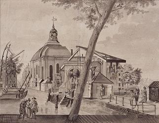 XVIII-285 Lutherse Kerk aan de Wolfshoek