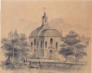 XVIII-289 Lutherse kerk aan de Wolfshoek.