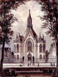 XVIII-29 Zuiderkerk aan de Glashaven.