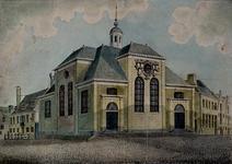 XVIII-322 Gezicht op de Schotse Kerk.