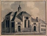 XVIII-325 De Schotse kerk aan het Vasteland.
