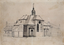 XVIII-326 De Schotse kerk aan het Vasteland.