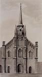 XVIII-347-02 Voorgevel van de Algemene Hulpkerk van de H.Antonius Abt in de Havenstraat.