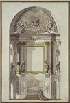 XVIII-359-03 Interieur van de St. Rosaliekerk aan de Leeuwenstraat.