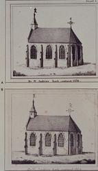 XVIII-386-00-01 Gezicht op de Sint Andrieskerk aan het Rodezand bij de Leeuwenlaan.
