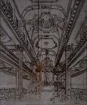 XVIII-406 Interieur oud-katholieke kerk Het Paradijs.