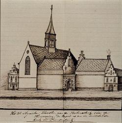 XVIII-426 St. Agnietenklooster aan de Botersloot.