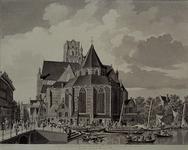XVIII-48 Binnenrotte met de Grote kerk.