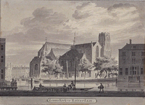 XVIII-49 De Groote Kerk te Rotterdam.