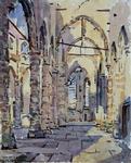 XVIII-82-04-1 De Sint Laurenskerk na het bombardement.