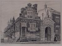 XX-40-2 Huizen in de Hoogstraat.