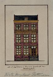 XX-71 M.C. van Dooren's Vrouwen Gesticht van Weldadigheid aan de Korte Hoogstraat.