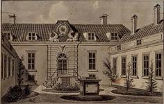 XX-95 Binnenplaats van Kuyl's Fundatie aan de Schiekade.