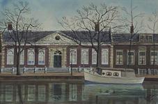 XX-98-01 Rotterdamse Schie - Schiekade.Kuyl's fundatie, gezien uit het zuidwesten.