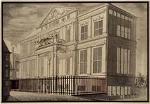 XXI-29 Museum Boymans van Beuningen uit het noordoosten gezien.