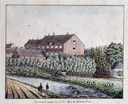 XXII-157 Achterzijde van het Zendelinghuis van het Nederlandsche Zendeling Genootschap aan de Rechter Rottekade 57.