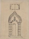 XXIII-10-2 Poorten van de Sint Joris Doele aan het Haagseveer.
