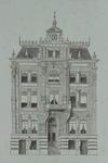 XXIII-40-01 Voorgevel van de sociëteit Verein .
