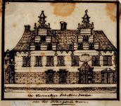 XXIII-7 Gezicht op de Sint-Joris Doele aan het Haagse Veer.