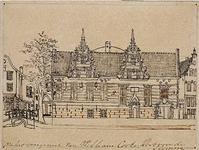 XXIII-9 De Sint Joris Doele aan het Haagseveer, uit het oosten gezien.