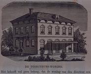 XXIII-93-3 De woning van de directeur in de Rotterdamsche Diergaarde.Het winter dieren-gebouw (XXIII 93-5) zie ...