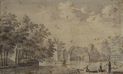 XXIV-57 Huis Rubroek aan de Rotte.