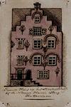 XXIV-67-2 Voorgevel van het schippershuis, het tweede huis aan de Slepersvest of Mosseltrap.
