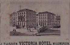 XXIV-88 Gezicht op het Victoriahotel uit het zuidoosten.