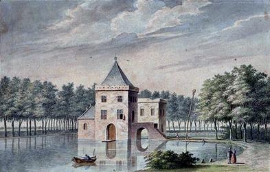 XXIX-33 Huis te Krooswijk in het jaar 1400.