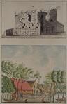 XXIX-42-1-EN-2 Ruïne van het slot Mathenesse.  -1  1769?Huis te Riviere aan de Oudedijk   -2  1769?