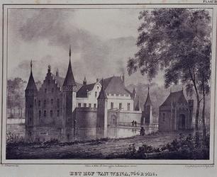 XXIX-62 Gefantaseerde voorstelling van het Hof van Weena.