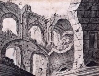 XXIX-64-2 Gefantaseerde voorstelling van het Hof van Weena.