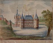 XXIX-8 Het slot Boekels, Beukels of Bulgerstein in het jaar 1261.