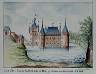 XXIX-9 Het slot Bulgersteyn, circa 1300.