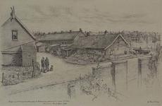 XXV-191-21 Gezicht op de Pinksterweide nabij de Valkeniersweg, gezien vanuit tuindorp De Vaan.