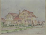 XXV-213-01-03 Huizen aan de Van Goghlaan in voormalige Hillegersberg.