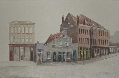 XXV-322-01 Huizen aan de Hofdijk.