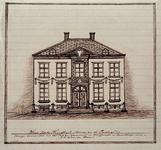 XXV-377-3 Voorgevel van een huis in de Korte Hoogstraat.3 tekeningen op één karton: XXV 377-1, -2, -3