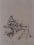 XXV-394-01-01 Gezicht op een villa aan de Laan van Woudenstein, hoek 's-Gravenweg uit het zuiden.