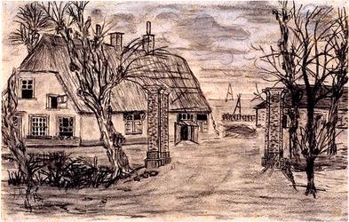 XXV-42 Boerderij het Jachthuis aan de Beukelsdijk.