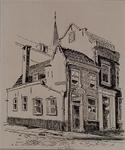 XXV-434-04-02 Een huis aan de Linker Rottekade op de hoek van de Kortebrantstraat.