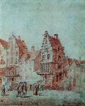 XXV-535 Hoeck Baanstraat en Prinsestraet 1670